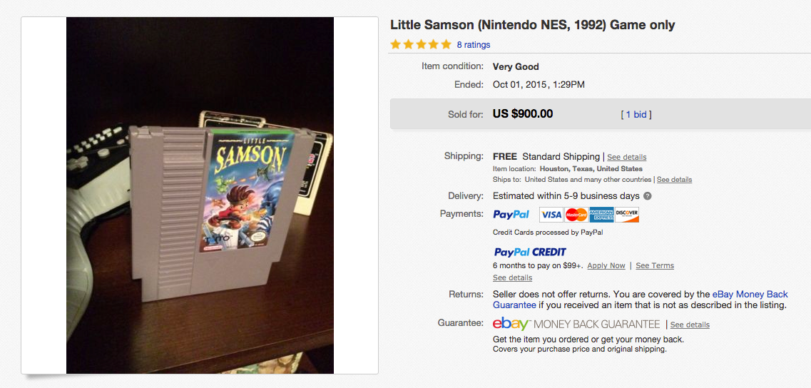 Find it Friday – This little known Nintendo Game is Hundreds of Dollars!