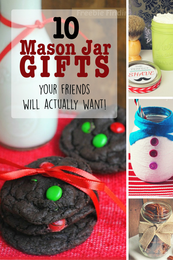 10 Mason Jar Christmas Gifts Your Friends Actually Want!