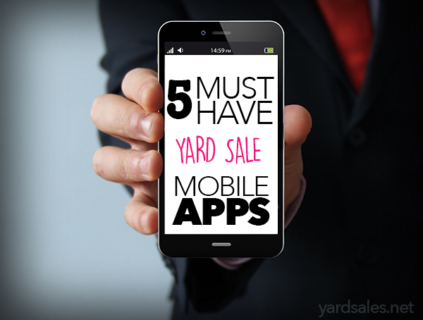 yard sale mobile apps