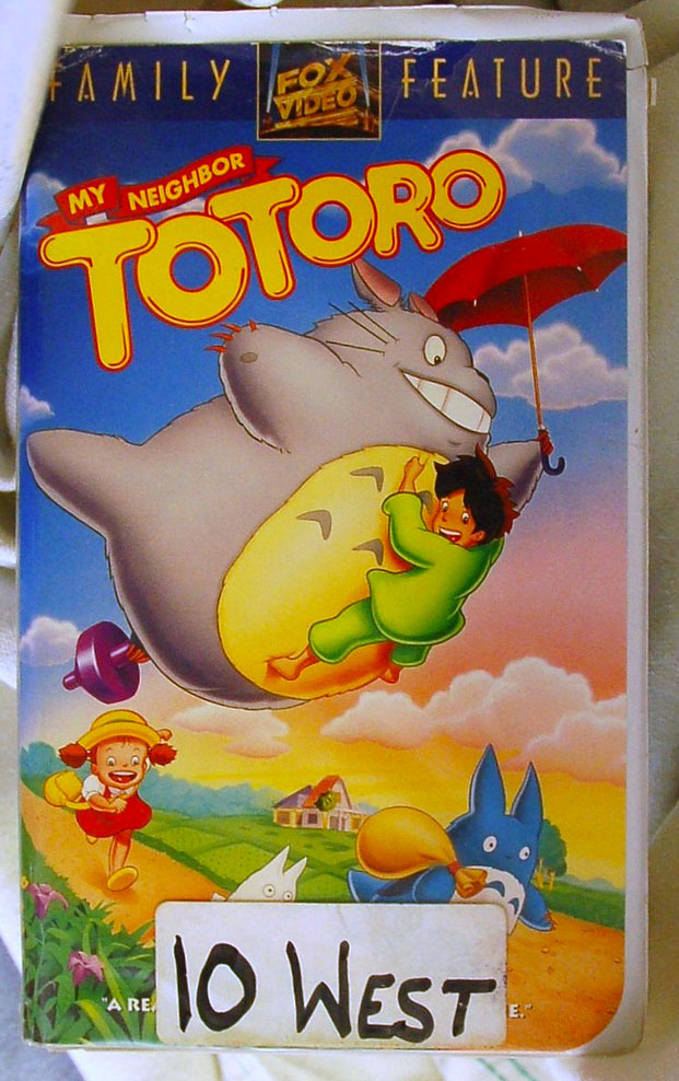 Find it Friday – My Neighbor Totoro VHS Tape