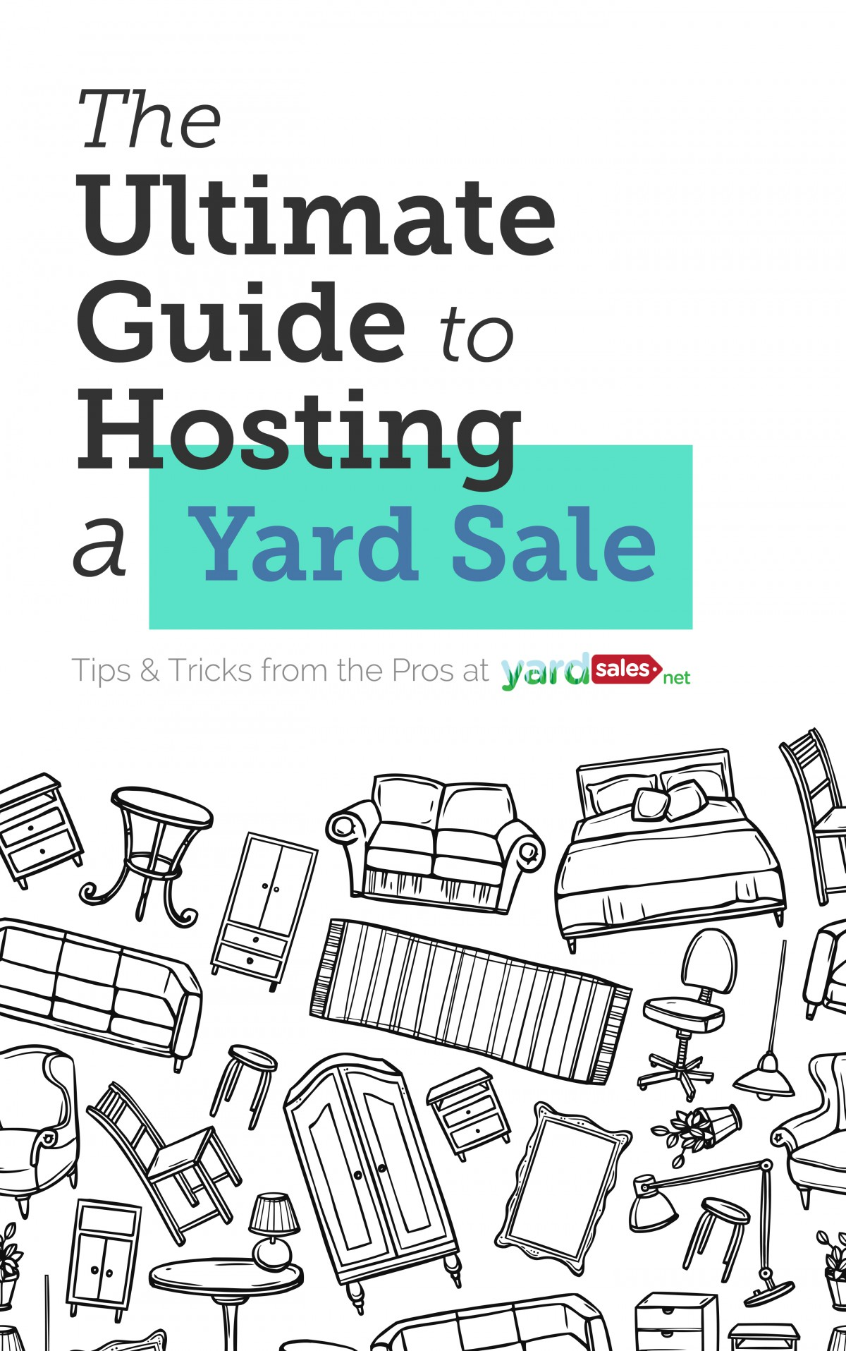 "Limited Time Offer: Download ""The Ultimate Guide to Hosting a Yard Sale"" for FREE through May 27!"