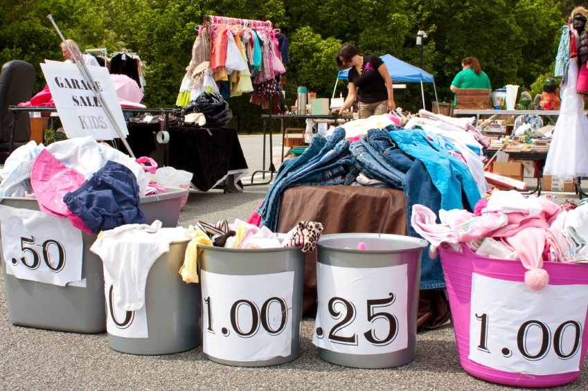 13 Yard Sale Hacks You Need To Know Before Your Next Sale