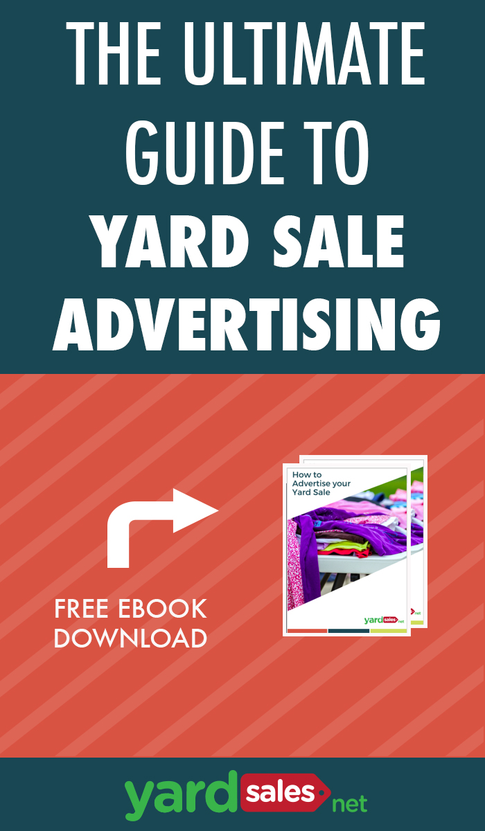 The Ultimate Guide to Advertising a YardSale [Free Ebook]